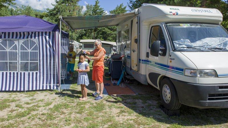 Le canton de Neuchâtel sera-t-il submergé par les camping-cars cet été (photo d'illustration)?