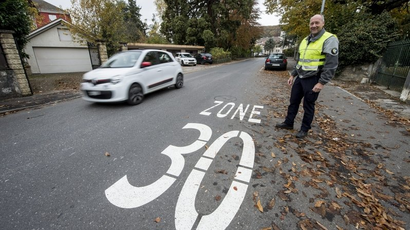 Peseux: les rues du Tombet et Fornachon transformés en zones 30km/h