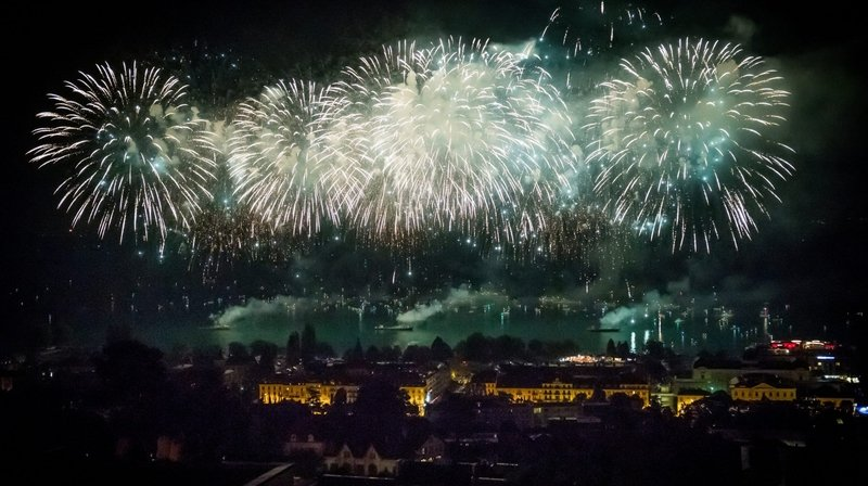 Neuchâtel annule le feu d'artifice du 1erAoût