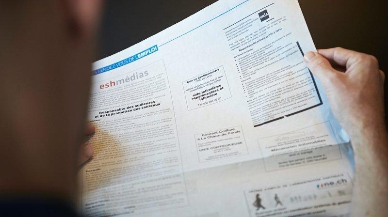 Le canton de Neuchâtel compte 4,7% de chômage en mai