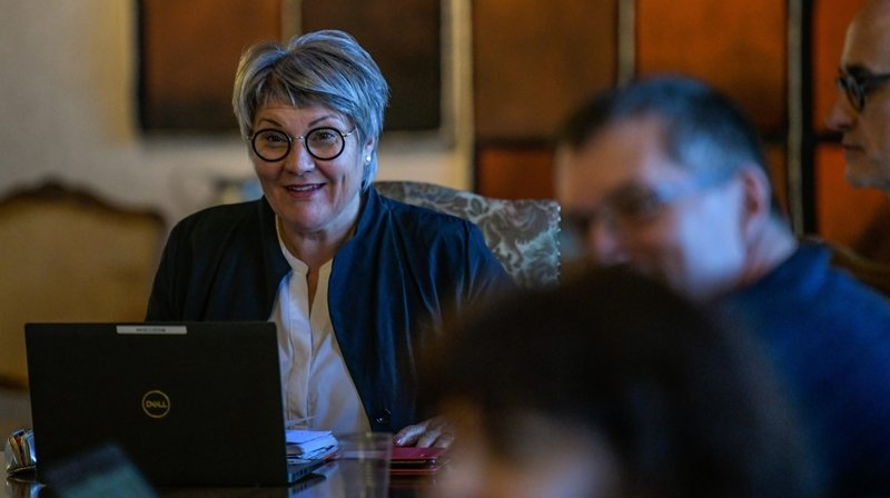 Monika Maire-Hefti désignée présidente du Conseil d'Etat neuchâtelois