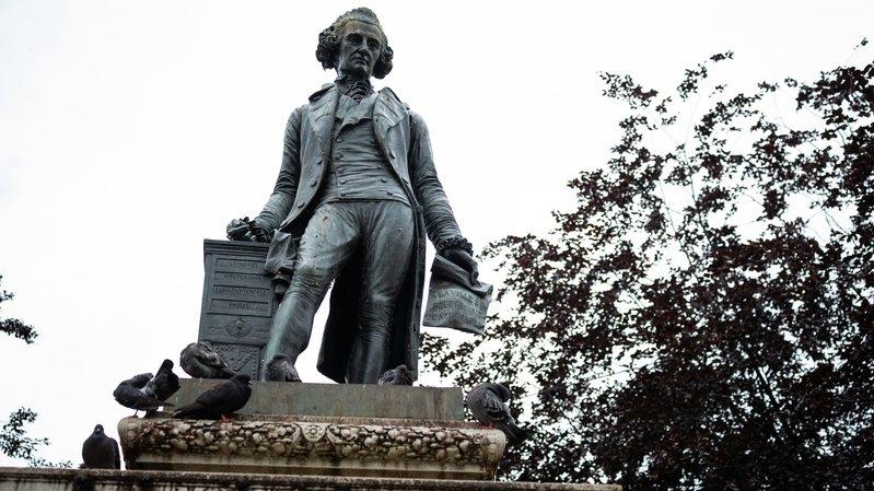 Neuchâtel: une pétition pour retirer la statue de David de Pury
