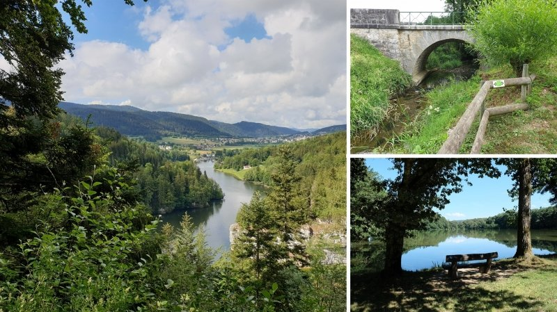 Le Doubs, son lac, son saut, et ses histoires