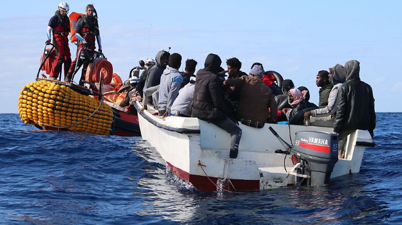 SOS Méditerranée n'a plus pu prendre en charge depuis des mois des migrants qui tentaient depuis la Libye de rejoindre l'Europe (archives).