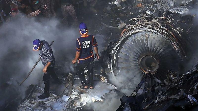 Crash aérien au Pakistan: au moins 97 personnes ont péri dans l'Airbus A320