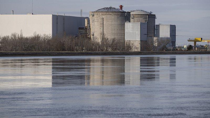 L'arrêt de la centrale de Fessenheim, au bord du Rhin, est un succès pour les antinucléaires français, suisses et allemands (archives).