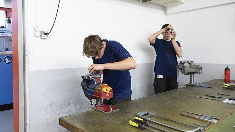 Formation: 1 jeune sur 4 se retrouve dans un emploi plus qualifié 5 ans après son CFC