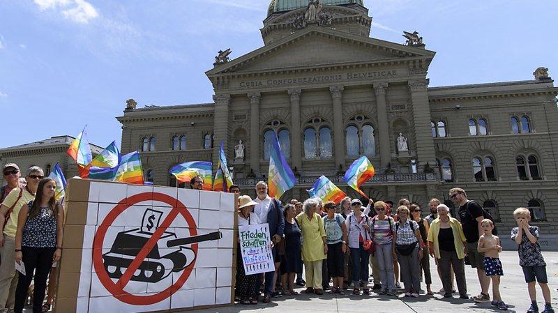 Matériel de guerre: l'initiative du GSsA est rejetée par le Parlement