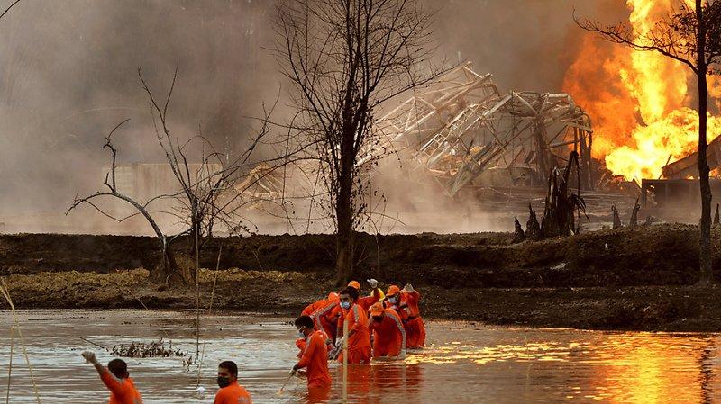 Puits de pétrole en feu en Inde: quelque 7000 personnes évacuées