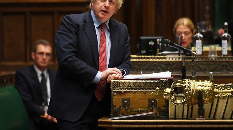 Coronavirus: critiqué, Johnson vante les efforts «incroyables» du Royaume-Uni