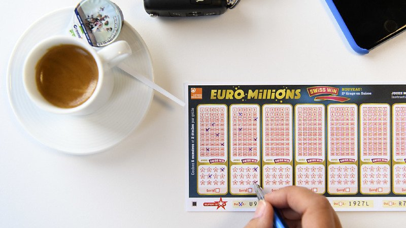 Loteries: deux joueurs remportent 19,7 millions de francs à l'Euro Millions