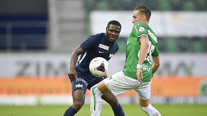 Football: St-Gall condamne les insultes racistes de jeudi