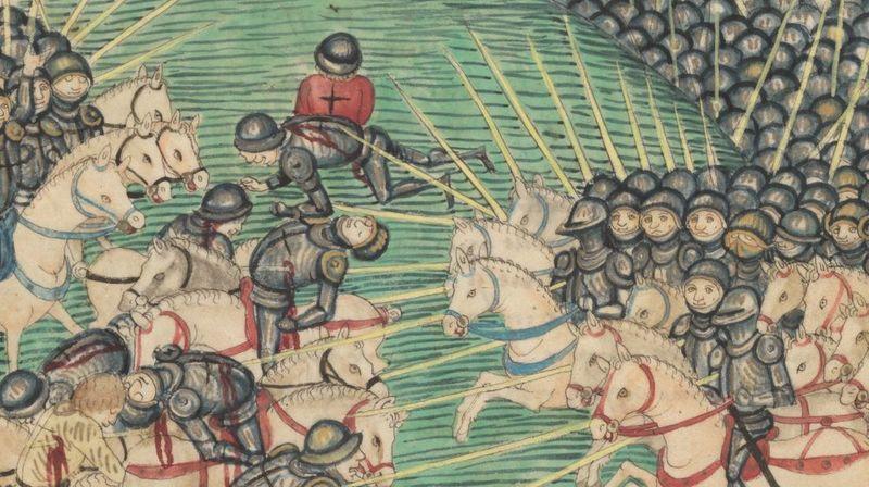 """""""En 1396, le sultan Bajazet 1er écrase une armée de croisés français, hongrois et valaques devant Nicopolis, sur le Danube"""", écrit Loïc Chollet."""
