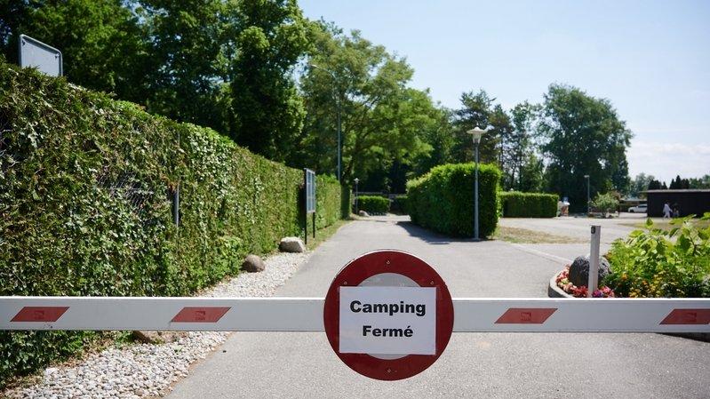 Les campings neuchâtelois seront pleins cet été