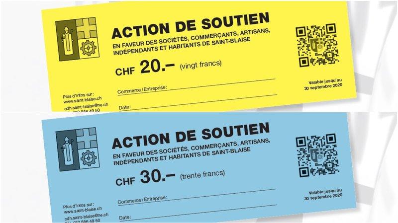 Saint-Blaise offre 50francs à ses habitants pour relancer le commerce local