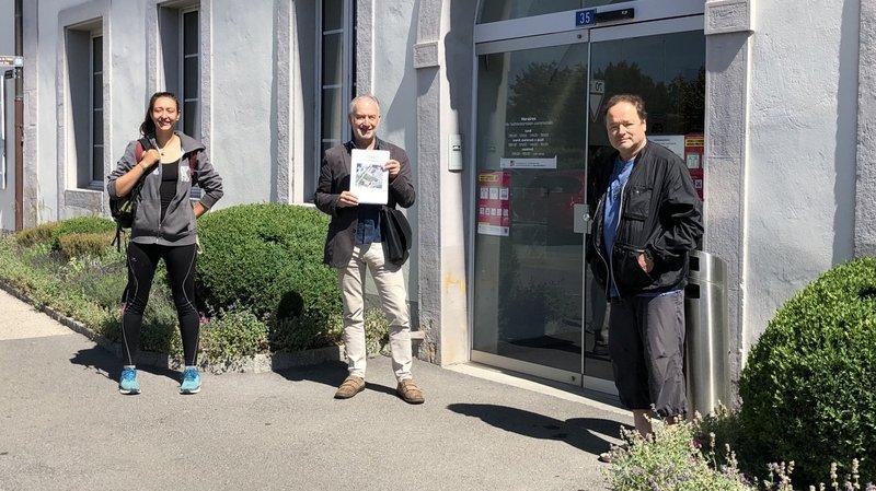 Saint-Blaise: les Verts débarquent et proposent la pose de panneaux solaires