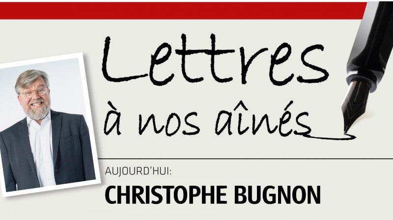 L'humoriste Christophe Bugnon écrit à nos aînés