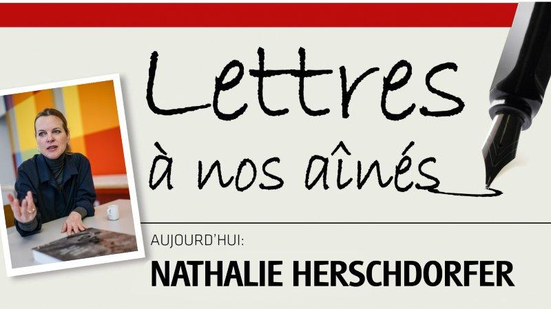 Nathalie Herschdorfer, directrice du Musée des beaux-arts du Locle, écrit à nos aînés