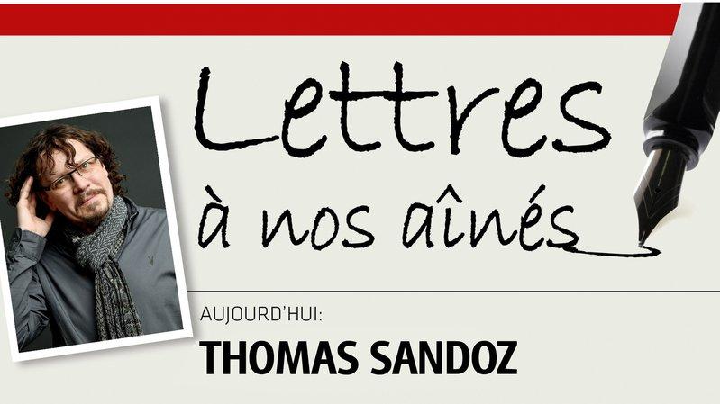 Thomas Sandoz, dompteur de mots, écrit à nos aînés