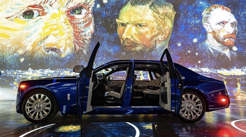 Canada: pour concilier art et pandémie, Van Gogh s'expose en version drive-in à Toronto