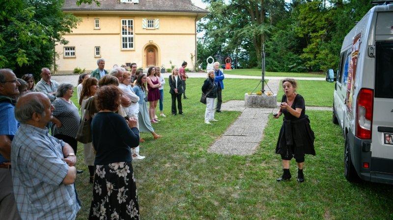 Neuchâtel: la Villa Lardy, un don encombrant qui retrouve un peu de vie