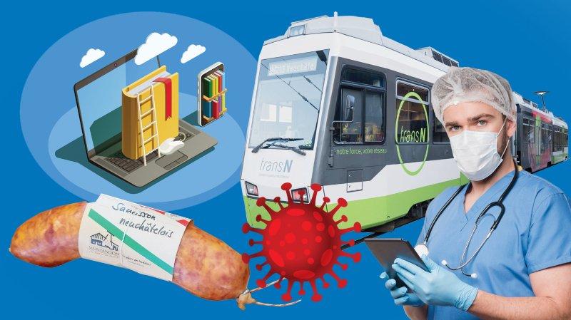 Emploi, loisirs, transports: les chiffres du coronavirus dans le canton de Neuchâtel