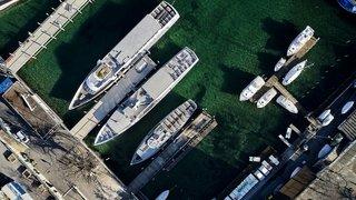 Bloquée au port par le Covid-19, la Navigation enregistre des cascades d'annulations