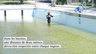 Casse-tête en vue pour la réouverture des piscines
