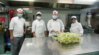 La cuisine communale de Corcelles pourrait inspirer la Ville de Neuchâtel