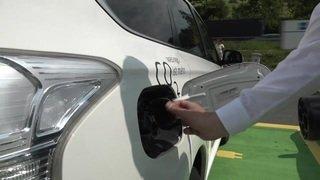 Voitures électriques: la première station de recharge rapide sur l'A2 a été inaugurée