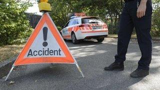 Genève: une collision frontale fait un mort au Grand-Saconnex