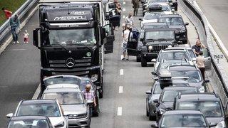 Circulation: de plus en plus de bouchons sur les routes suisses