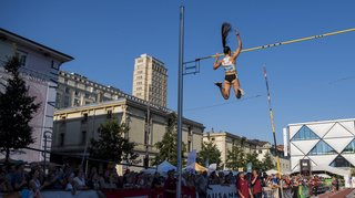Coronavirus: une épreuve de saut à la perche en ville à la place d'Athletissima