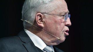 L'ex-conseiller fédéral Blocher exige rétroactivement 2,7 millions de rente de ministre