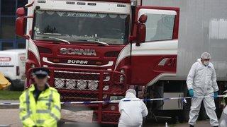 France: arrestation de 13 suspects impliqués dans la mort de 39 migrants dans un camion