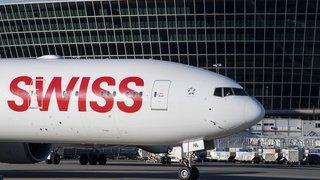 Coronavirus: port du masque obligatoire à bord des avions de la compagnie Swiss