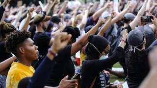 Etats-Unis: hommage d'une foule immense à Houston pour George Floyd