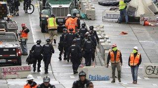 """Etats-Unis: la """"zone autonome"""" de Seattle évacuée de ses occupants"""