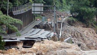 Japon: au moins 36 morts dans la région de Kumamoto en raison des intempéries