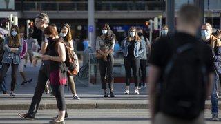Coronavirus: beaucoup de gens stressés malgré l'assouplissement des mesures