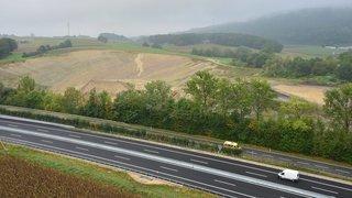 Les poussières de Juracime ne rendraient pas l'autoroute glissante vers Cornaux.