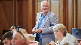 S'il est élu, Patrick Herrmann investira une partie de sa rente d'ancien directeur dans la collectivité