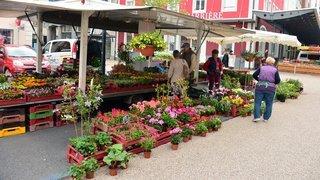 Neuchâtel et La Chaux-de-Fonds: les marchés ont lieu le 1eraoût