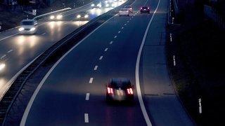 Collision sur l'autoroute près de Saint-Ursanne