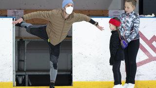 Stéphane Lambiel revit sur la glace