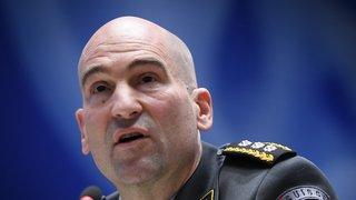L'armée suisse fait face à une pénurie de soldats, selon son chef Thomas Süssli