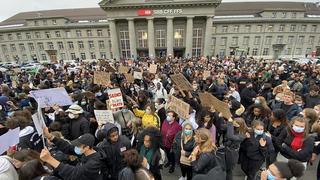 Mobilisation: un millier de manifestants contre le racisme à Bienne