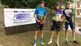 Première manche remportée par Justin Paroz et Chrystelle Baumann