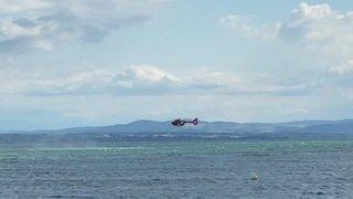Opération de sauvetage sur le lac de Neuchâtel