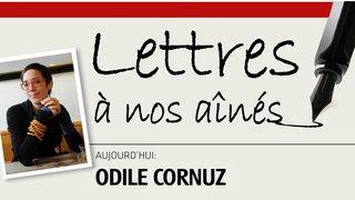 L'écrivaine Odile Cornuz écrit à nos aînés
